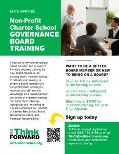 Non-Profit Charter School Governance Board Training